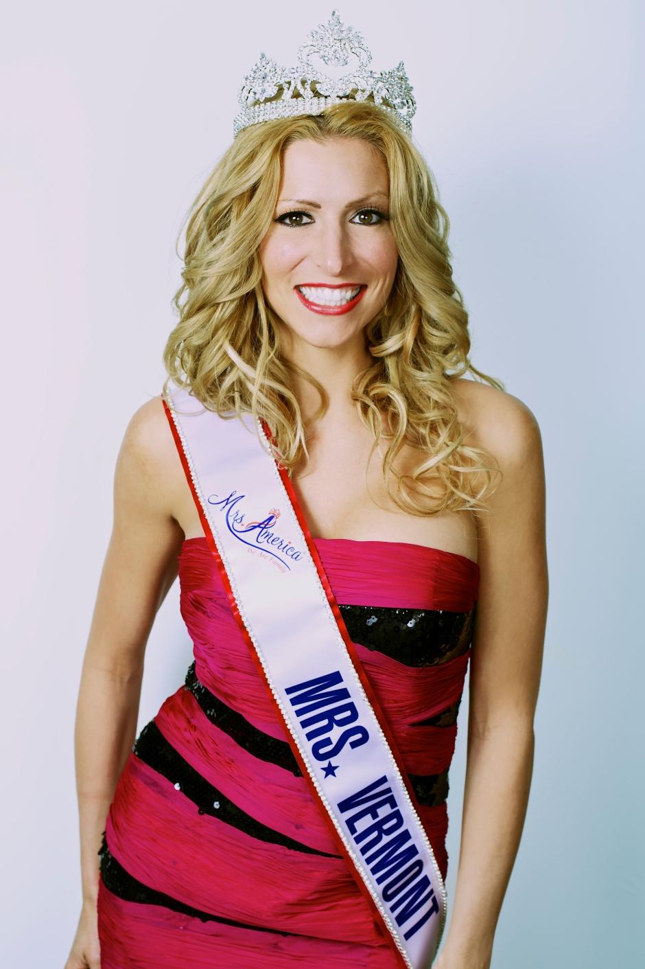 Mrs. Vermont America 2013 - Hannah Kirkpatrick